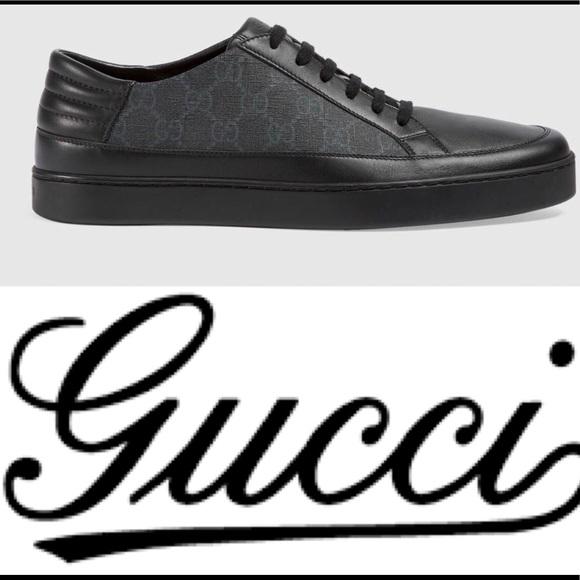 320be4cf4233b8 Gucci Shoes | Gg Supreme Lowtop Sneaker | Poshmark